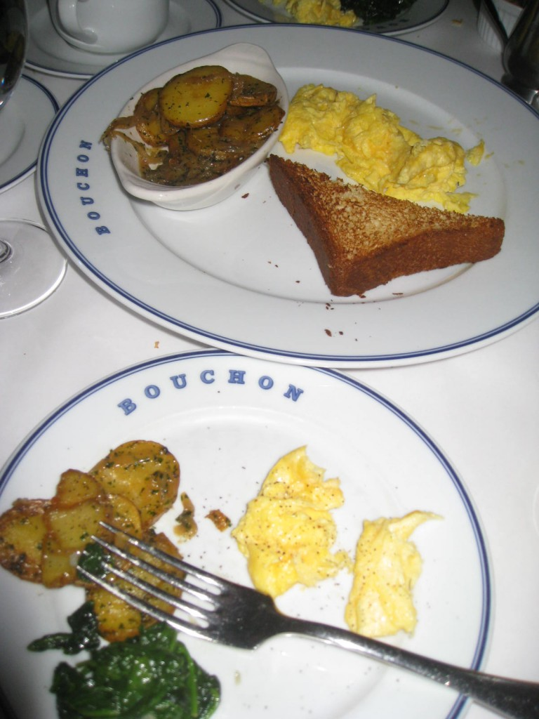 Breakfast Américaine at Bouchon