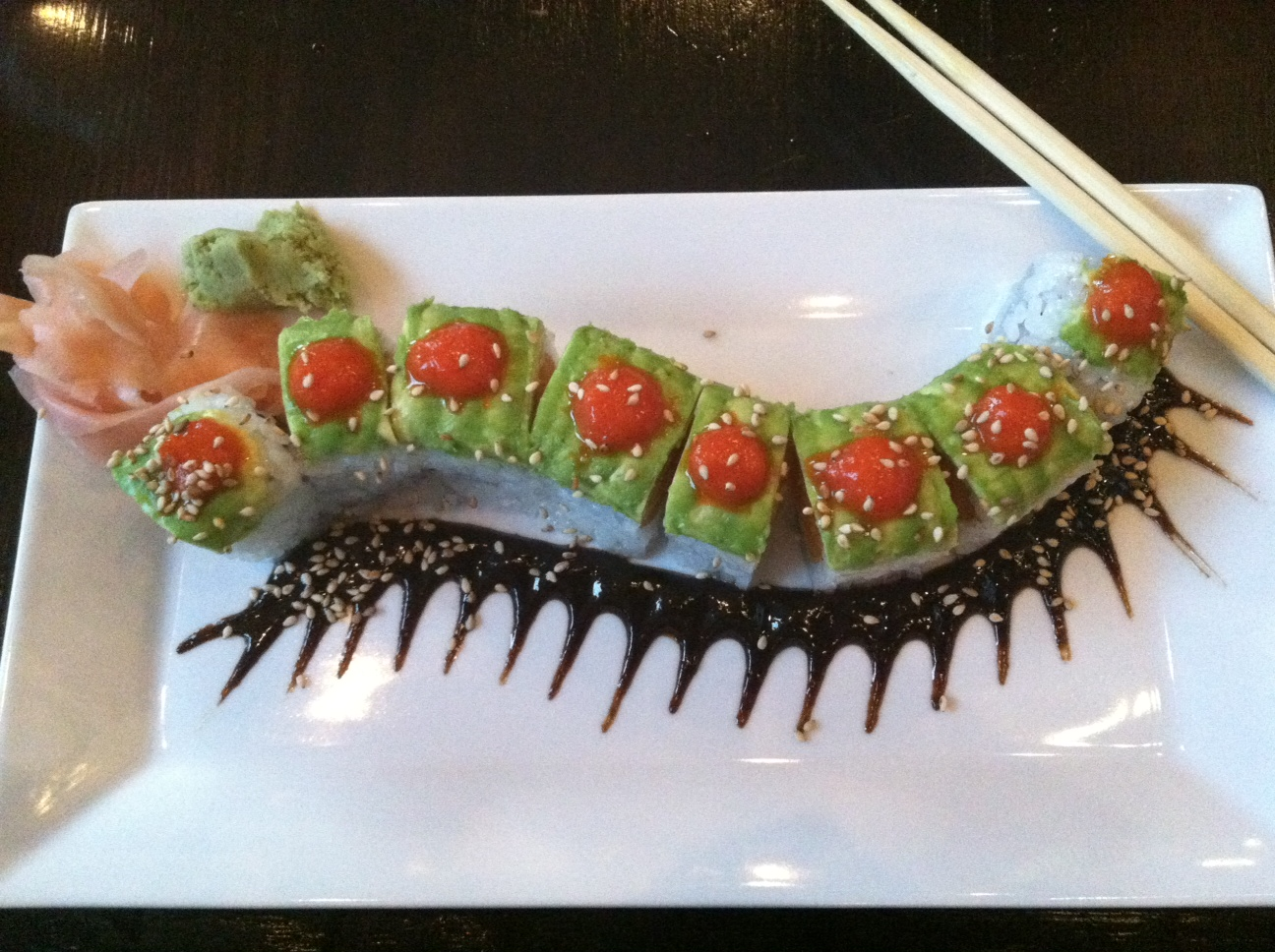 Sweet Caterpillar Roll – Sunda