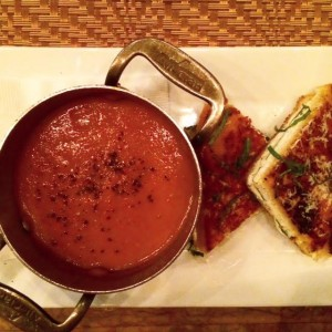 Delmonico's Grilled Cheese Sandwich And Tomato Soup