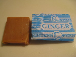 Vietnamese Coconut Ginger Candy