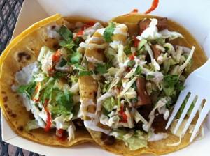 TaKorean Vegetarian Tacos