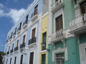 Beautiful San Juan, Puerto Rico Architecture