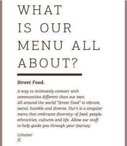 Linger Restaurant Concept