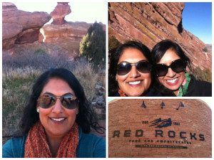 Afternoon At Red Rocks