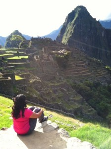 Soaking In Machu Picchu