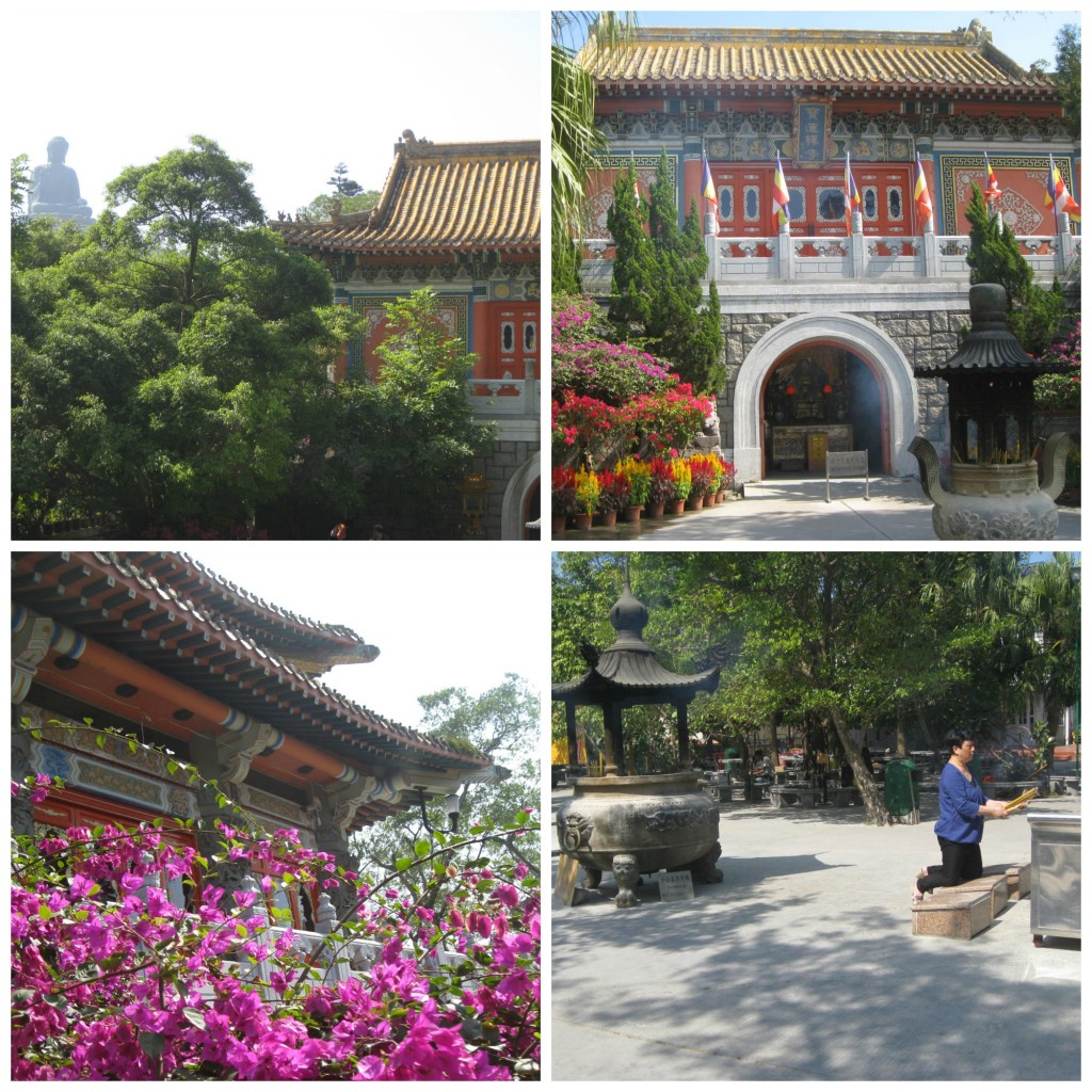 Beautiful Po Lin Buddhist Monastery At Ngong Ping