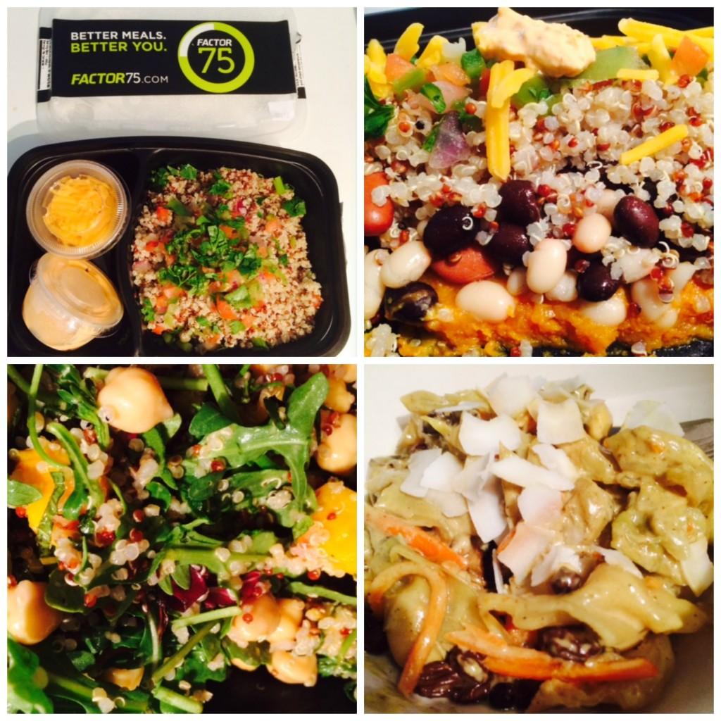 Factor 75: Veggie Burrito Bowl,  Summer Salad, Curried Eggplant