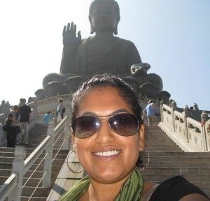 Selfie With Big Buddha. Yay!!