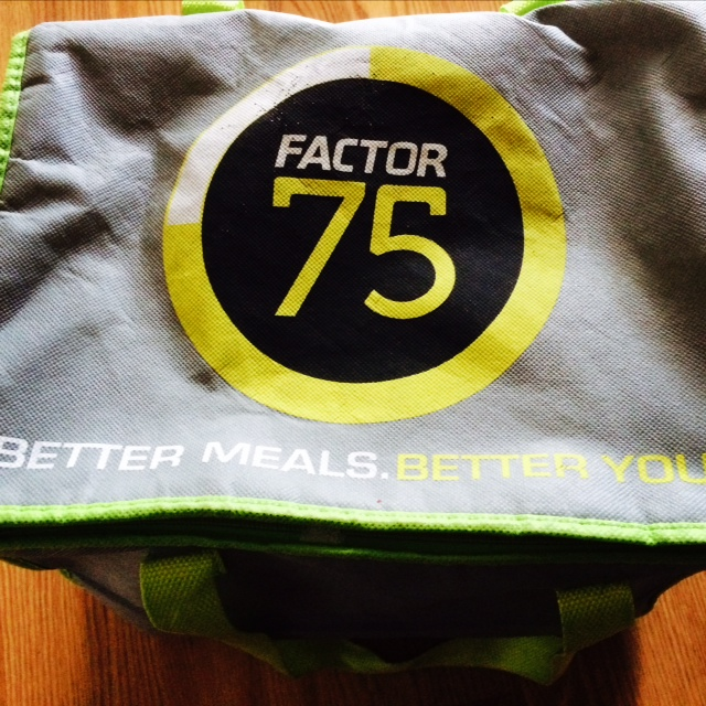 Factor 75 Chicagoland Meal Delivery