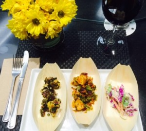 Trio Of VEG'D Vegan Salads