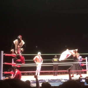 Lucha Libre Wrestling Match