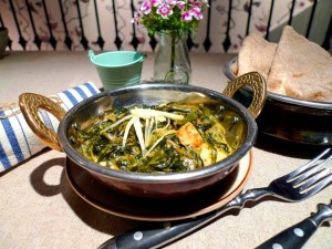 Palak Paneer- Photo Credit: Grassroots Pantry