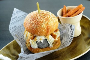 Sesame and Lemongrass Ice Cream Burger - Photo Credit: InterContinental Hotel Group