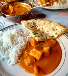 Paneer Tikka Masala At Khana Khazana - Photo Credit: Kathryn Yengel