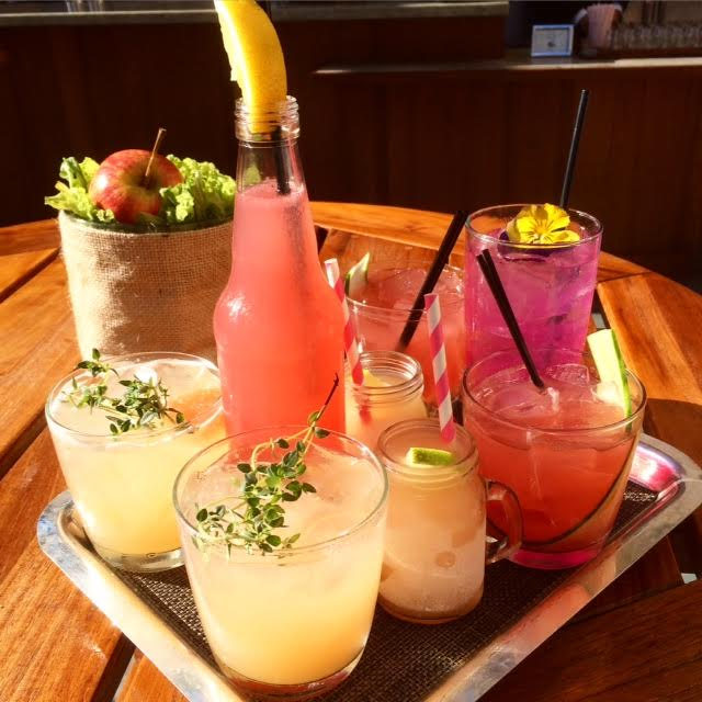 Drinks At NoMI Garden Rooftop