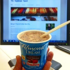 Almond Dream Yogurt With Chia Seeds