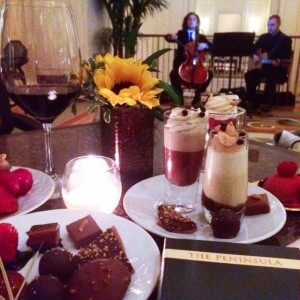 'Chocolate At The Pen' Dessert Bar