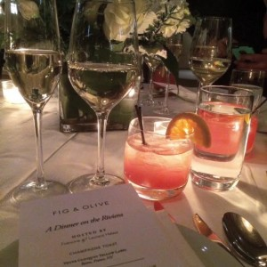 Fig & Olive, The Cuisine of the French Riviera