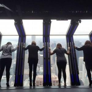 Tilt At 360 Chicago Observation Deck