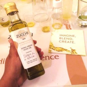 Zucchi Olive Oil Tasting
