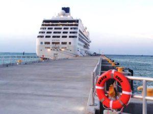 Adonia Docked At Amber Cove