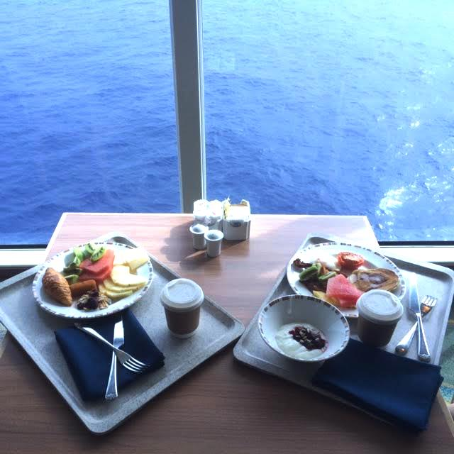 Breakfast Aboard The Adonia Ship