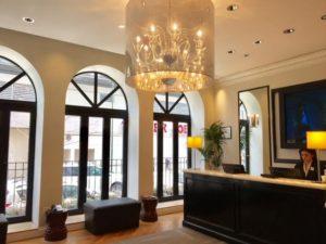 Quaint Hotel Cass Lobby