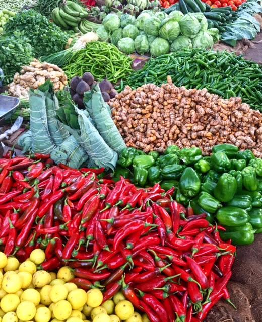 Fresh, Organic Produce In The Market