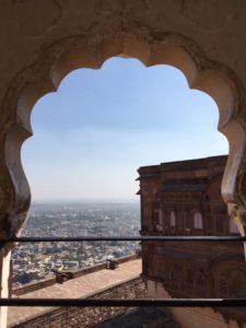 View From The At The Mehrangarh Fort in Jodhpur