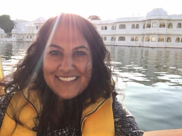 On The Boat Ride To The Taj Lake Palace