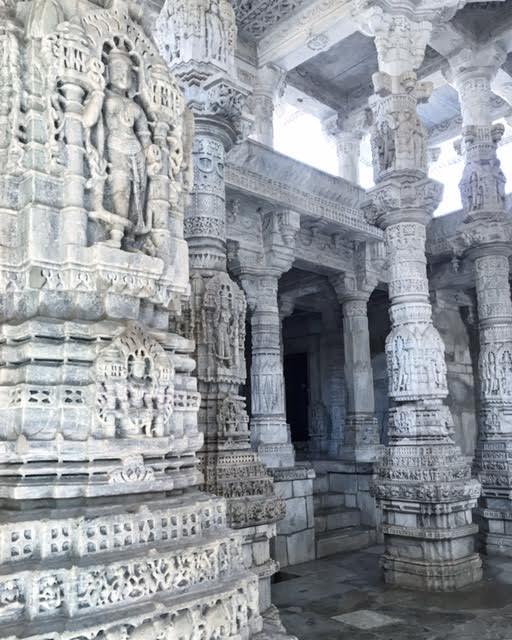 Beautiful All-Marble Jain Temple In Ranakpur