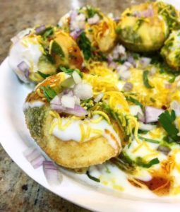 Favorite Street Food Of Sev Puri