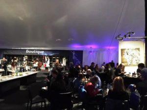 Cavalia Inside VIP Tent