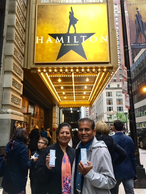 Cutest Parents Ever Going To See Hamilton