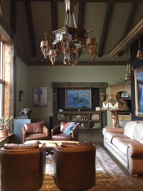 Inside Elk River Art Studio And Lodge