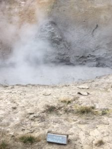 Mud Volcano At Yellowstone National Park
