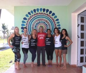 Our Group With Eduardo