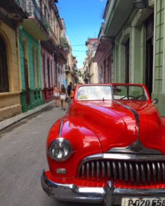 Loved The Colorful Streets and Old Cars