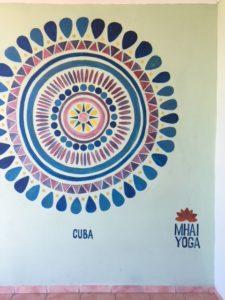 Mhai Yoga Mural