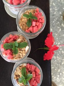 Guava Chia Pudding Jars For Breakfast