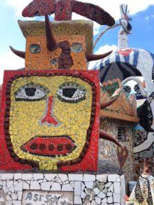 Mosaic Tile Art Work at Fusterlandia