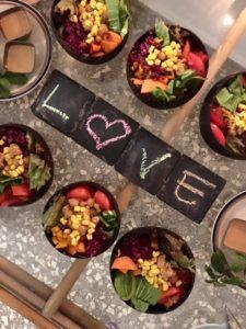 Organic Buddha Bowls For Dinner
