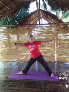 Yoga Class Led by Eduardo Pimental