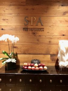 Arriving At The Wonderful Peninsula Spa