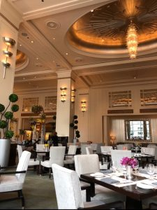 The Beautiful Lobby For Afternoon Tea