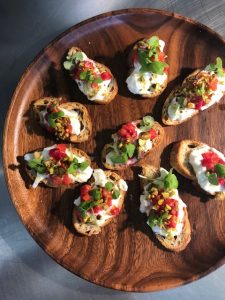 Beautiful and delicious appetizers