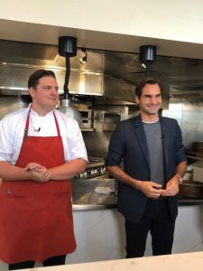 Introducing Chef Joe Flamm and Roger Federer