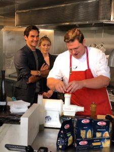 Chef Joe Flamm's demo