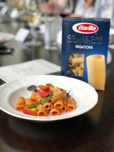 Barilla Collezione Rigatoni dish
