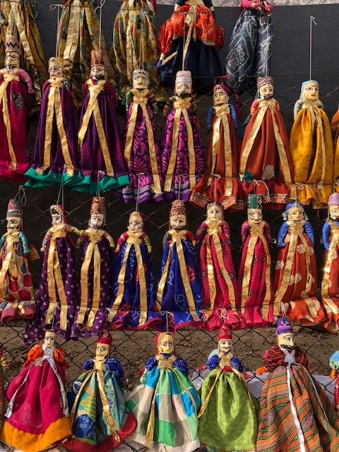 Love the Colorful Rajasthani Puppets